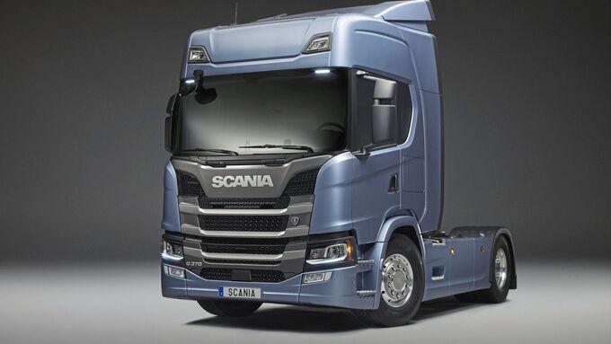 Scania G 410 4x2 tractor, sleeper cab Södertälje, Sweden Byline: Gustav Lindh 2017