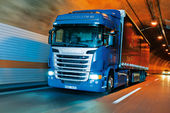 Scania, G 420, Test, Lkw, G-Baureihe, SCR-Motor