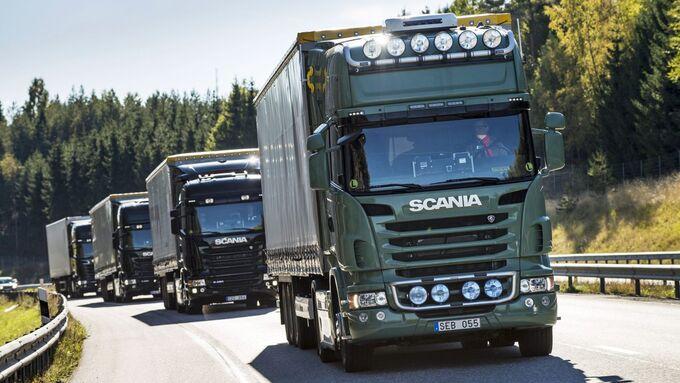 Scania, Platooning