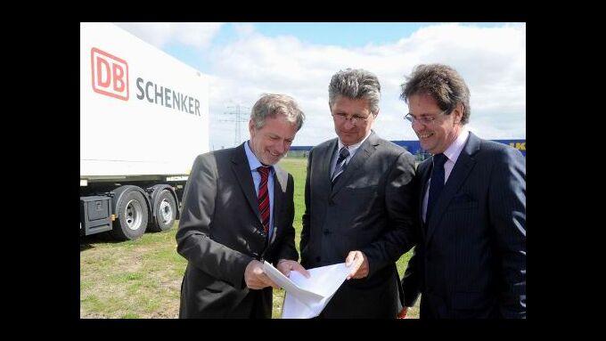 Schenker baut Terminal Weser-Ems