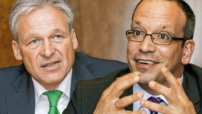 Schunck Group: Gerhard Müller und Tobias Krüger (rechts)