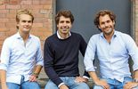 Sennder, Start-up, Nicolaus Schefenacker, Julius Koehler, David Noth­acker (v. l.)