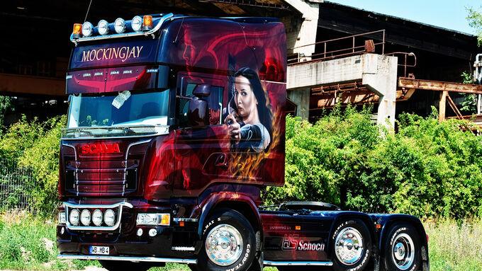 Supertruck, Scania, Tribute von Panem, Mockingjay