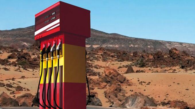 Tanksäule, Wüste, Spanien, DKV