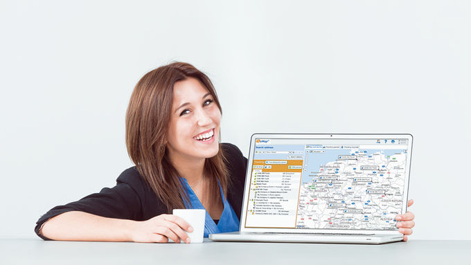 Timocom Telematik-Plattform TC E-Map