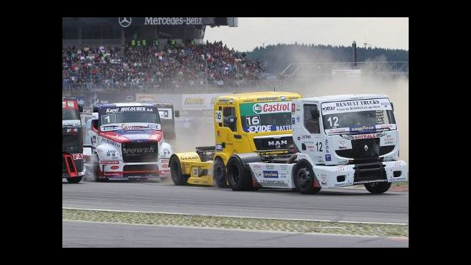 Truck Grand Prix in Vorbereitung