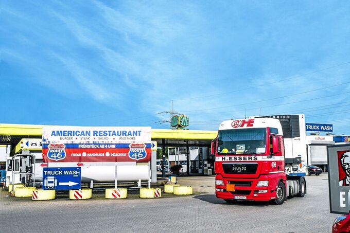 Truckstop-Autohof Düsseldorf