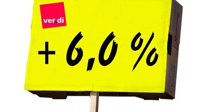 Verdi sechs Prozent
