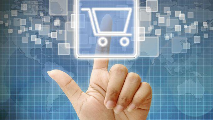 Virtueller Einkauf, Hära, Beratung, Hand, Finger, Display