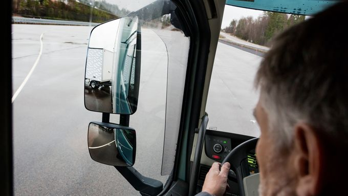 Volvo Impuls-Streck-Bremse