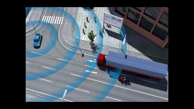Volvo: Neue Technologie vermeidet Unfälle