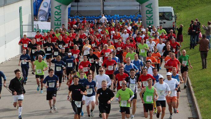 trans aktuell-Lauf 2012, Start, Bissenhofen