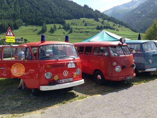 12. Großglockner VW-Bulli-Treffen am Großglockner 2018