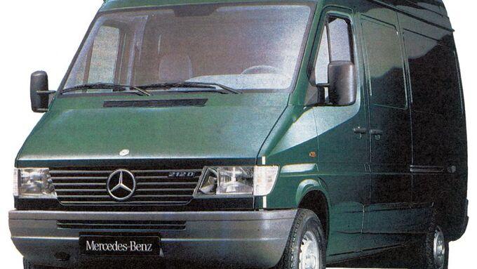1995, Mercedes-Benz, Sprinter