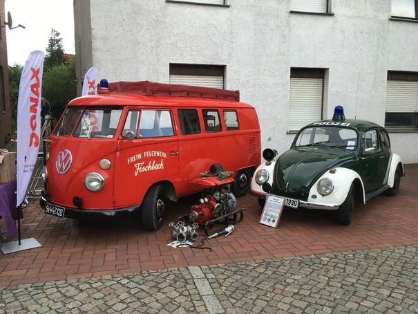 7. internationales Volkswagen Veteranentreffen in Hessisch Oldendorf