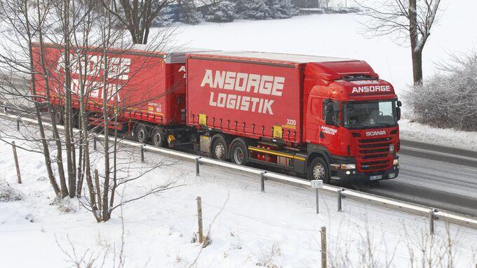 Ansorge-Logistik, Lang-Lkw, 2012, Regelbetrieb, Winter