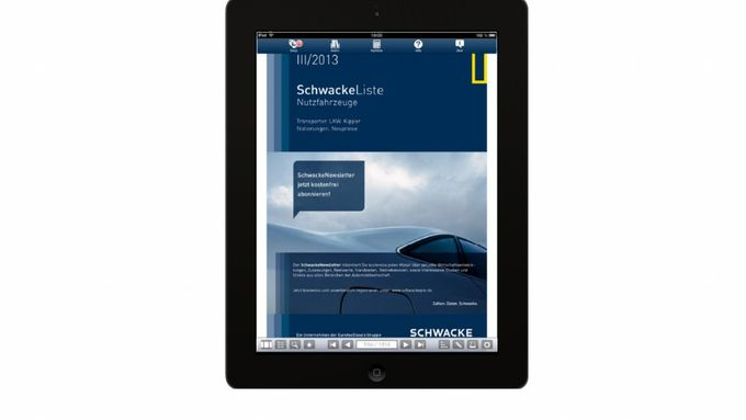 App, Schwacke ebook, 2013, Nutzfahrzeuge