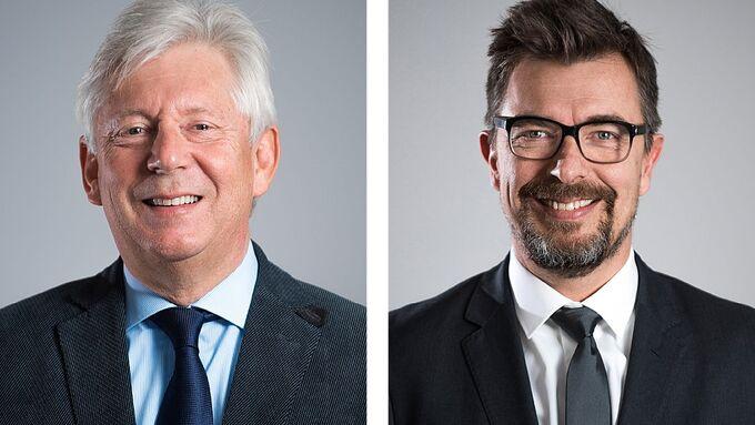 Beni Kunz, Michail Stahlhut (re.), Hupac, CEO