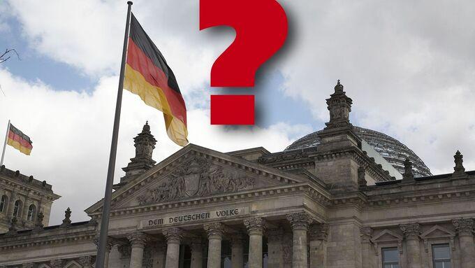 Berlin, Fragezeichen