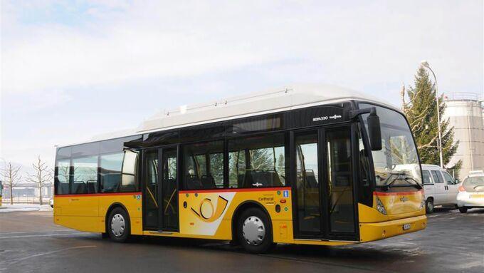 CNG-Bus von Van Hool für Delémont