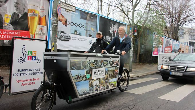 Cargobike in Berlin