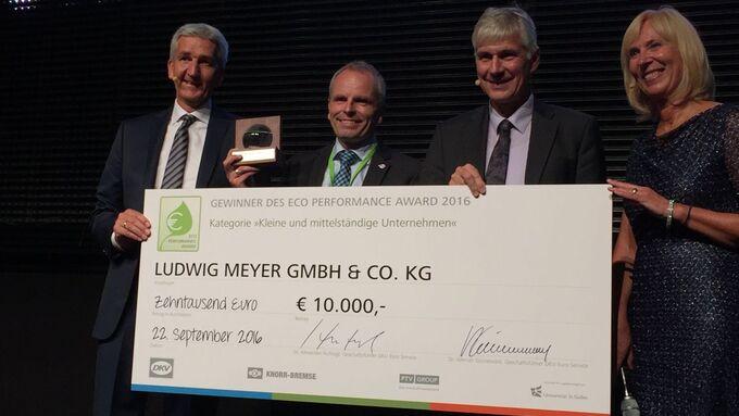 DKV Eco Performance Award IAA 2016