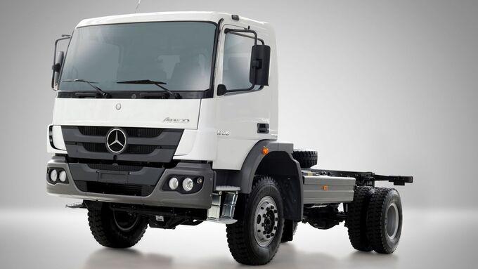 Daimler, Mercedes-Benz, Atego, Brasilien, Militär