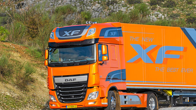 Der neue DAF XF, Euro 6 Motor