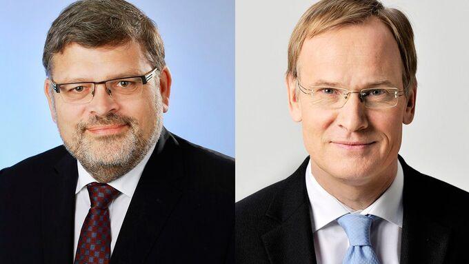 Eckhard Scholz (50), Joachim Rothenpieler (links)