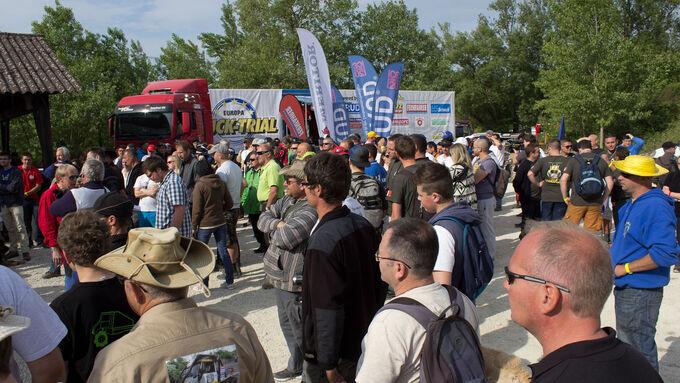 Europa Truck Trial 2015 Montalieu Samstag