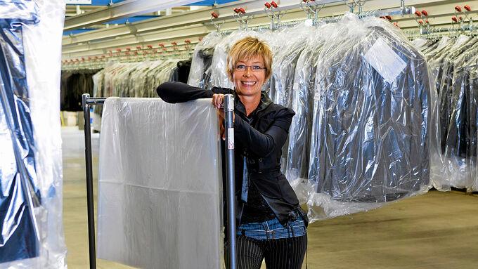 Expertin für Logistik und Mode: Angelika Burgel