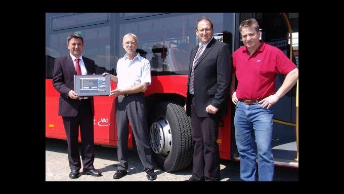 Fleet Award geht an Freiburger Verkehrs AG