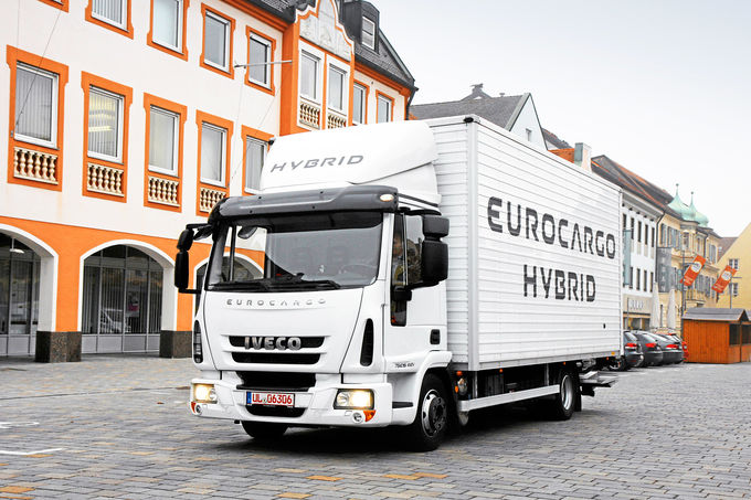 Iveco Eurocargo Hybrid 75E16