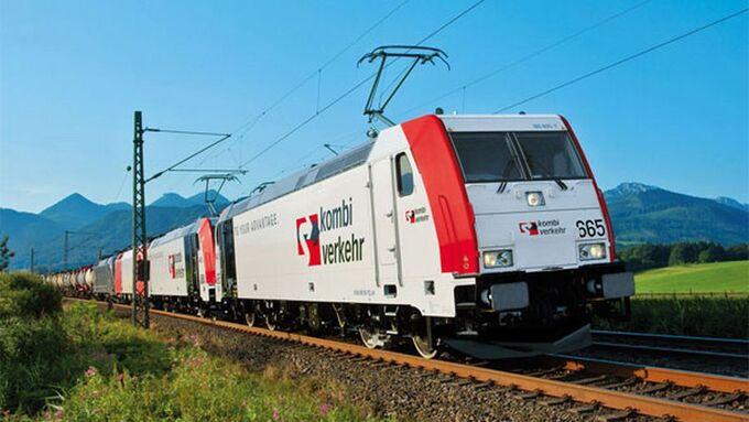 Kombiverkehr, Zug, Alpen