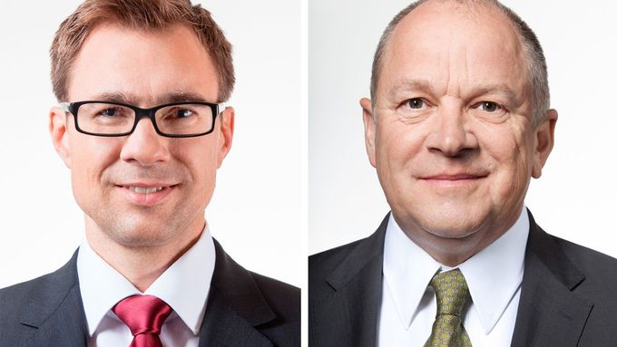 Links: Martin Klink, rechts: Thomas Ohnhaus, DPD, Management