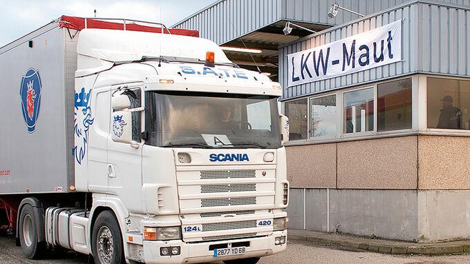 Lkw-Maut-System
