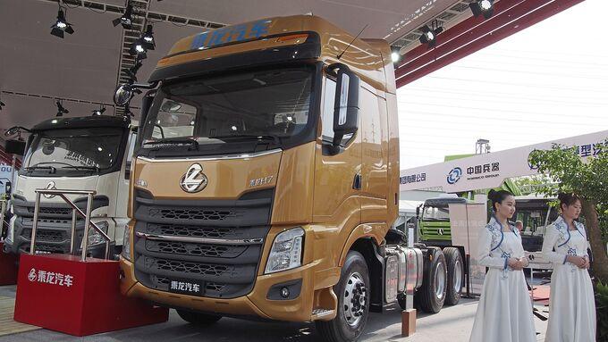 Lkw, Transporter, China, Messe
