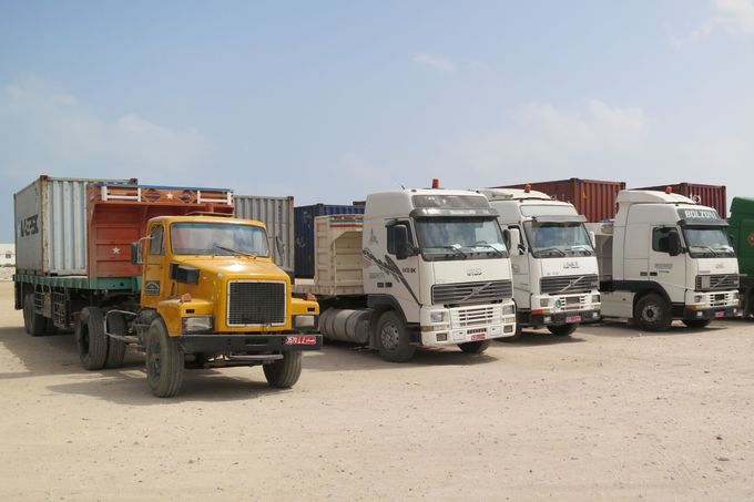 Lkw in Nahost