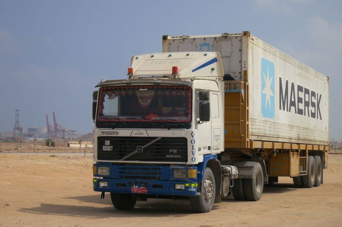 Lkw in Nahost