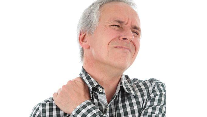 Mann, Schmerzen, Nacken, Fernfahrer