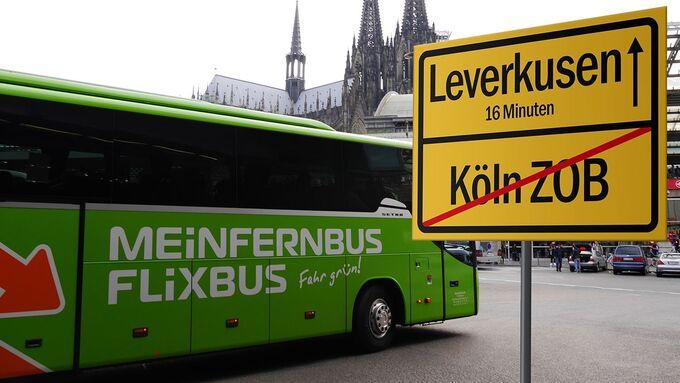 MeinFernbus Flixbus, Verbot, Köln