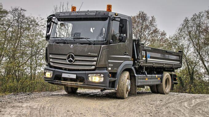Mercedes Atego 1530 Kipper Baustelle Lkw