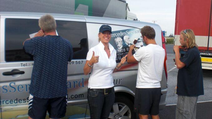 Mercedes-Benz ServiceCard Promotiontour 2012