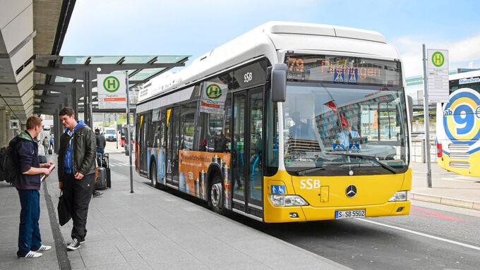 Mercedes Citaro Fuelcell Hybrid, Bus, Fahrbericht
