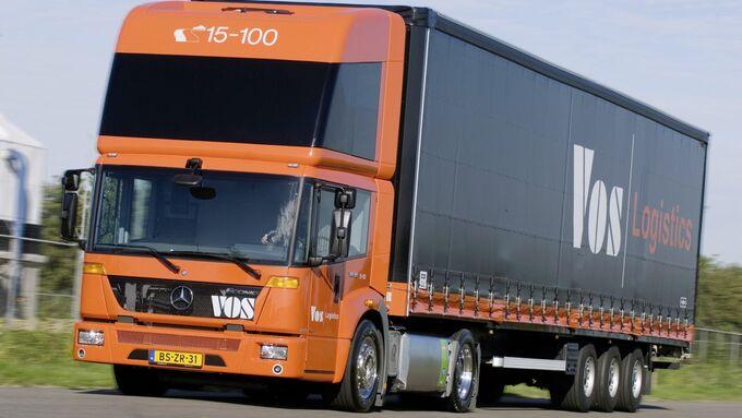 Mercedes Econic NGT LNGErdgas-Lkw, Mercedes Econic NGT LNG