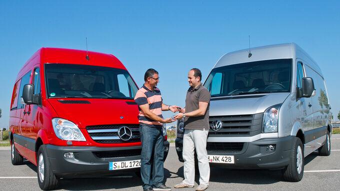 Mercedes Sprinter, VW Crafter,
