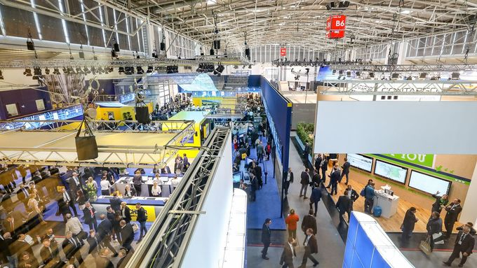 Messe allgemein, transport logistic 2017, messe, stand