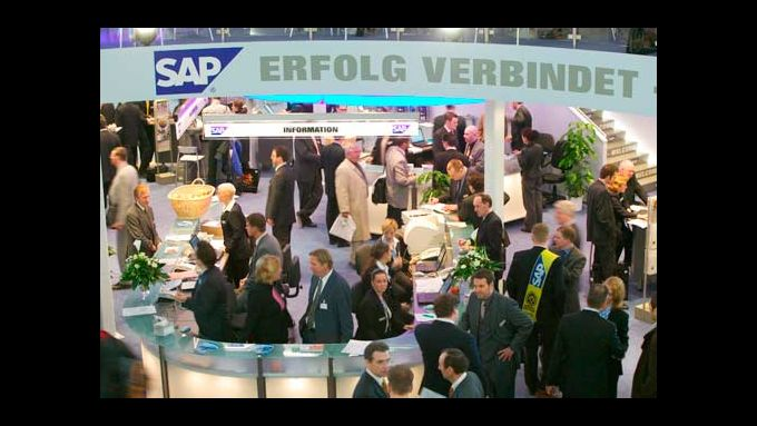Messestand SAP