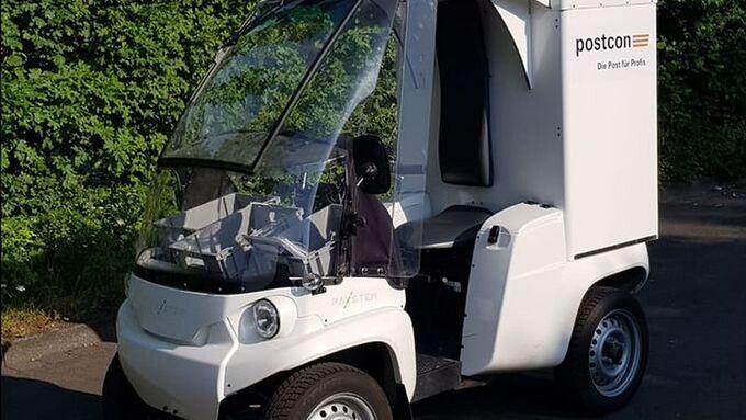 Mini-Elektro-Transporter Paxter