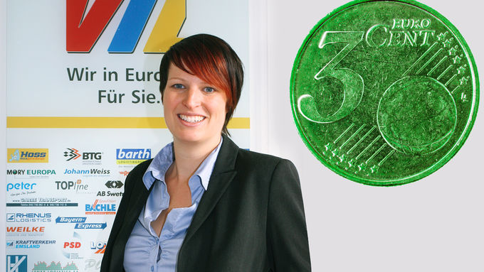 Nachhaltigkeit, die Stückgut-Kooperation, grüne Logistik: Johanna Birkhan